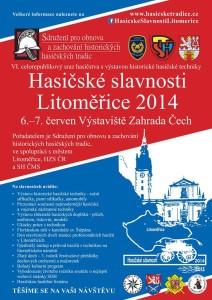 Hasičské slavnosti Litoměřice 6. - 7. červen 2014